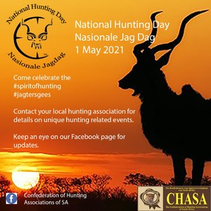 Nasionale Jagdag 1 Mei 2021 / National Hunting Day 1 May 2021