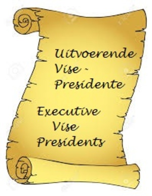 Uitvoerende Vise-Presidente / Executive Vice-Presidents